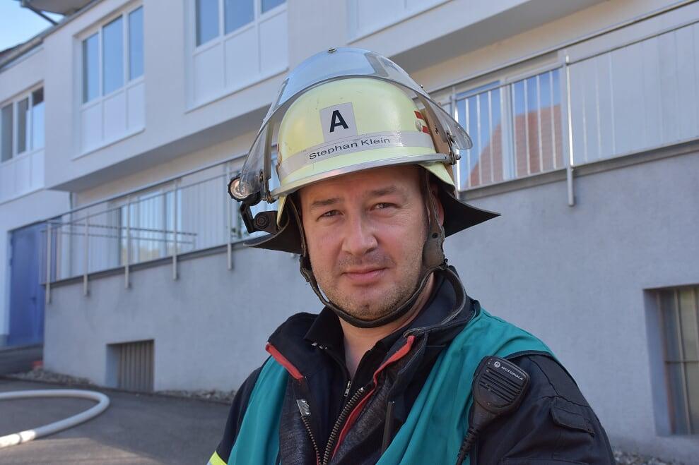 Zugführer der Feuerwehr Künzelsau